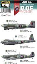 AMMO[AMIG7214]WW.II 後期 イギリス空軍 カラーセット