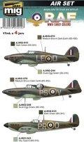 AMMO[AMIG7215]WW.II 前期 イギリス空軍 カラーセット