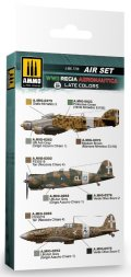 AMMO[AMIG7238]WW.IIイタリア空軍(後期)用カラーセット