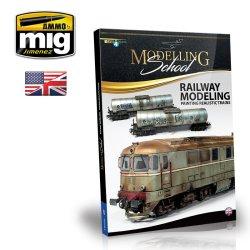 画像1: AMMO書籍[AMIG6250]モデリングスクール:鉄道模型の塗装法