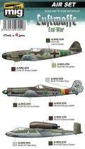 AMMO[AMIG7221]WW.II ドイツ空軍 (後期)                               カラーセット 17mlx4本