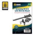 AMMO[AMIG8148]1/35 M1919 ブローニング機関銃 w/M20対空マウント