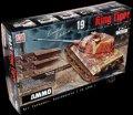 AMMO[AMIG8500] 1/35 ドイツ軍 重戦車 Sd.Kfz.182キングタイガー ヘンシェル砲塔 1945年 2 in 1 限定版