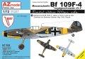 AZモデル[AZM7626]1/72 Bf109F-4「JG.3」リミテッドエディション