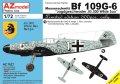 AZモデル[AZM7627]1/72 Bf109G-6「JG.300ヴィルデザウ」リミテッド