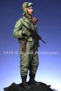 Alpine Miniatures[AM16041]1/16 WWII 米 第4機甲師団 戦車兵「ファーストイン バストーニュ」