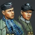 Alpine Miniatures[AM35138]WWII 独 第一装甲師団将校セット