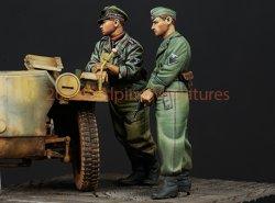 画像4: Alpine Miniatures[AM35147]武装親衛隊戦車クルーセット(2体)