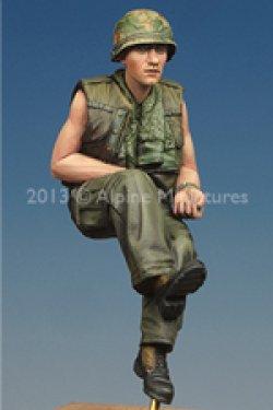 画像4: Alpine Miniatures[AM35161]1/35米戦車兵 ベトナム戦争 #2