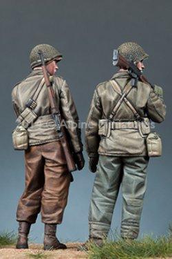 画像5: Alpine Miniatures[AM35171]1/35 WWII 米BAR銃手&歩兵 2体セット