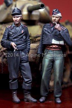 画像2: Alpine Miniatures[AM35183] 負傷したドイツ戦車兵(2体セット)