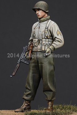 画像4: Alpine Miniatures[AM35184]  1/35 WWII米 歩兵下士官(機甲部隊用冬ジャケット着用)