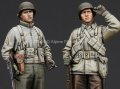 Alpine Miniatures[AM35186]1/35 WWII米 歩兵(冬装)2体セット