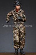 Alpine Miniatures[AM35188]1/35 武装親衛隊戦車指揮官(迷彩ジャケット)#2