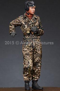 画像2: Alpine Miniatures[AM35188]武装親衛隊戦車指揮官(迷彩ジャケット)#2