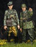 Alpine Miniatures[AM35195]WWII独 擲弾兵(スプリンター迷彩服)(2体セット)