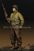 Alpine Miniatures[AM35202]1/35 WWII米 歩兵(防寒ジャケット)