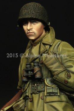 画像2: Alpine Miniatures[AM35203]1/35  WWII米 歩兵将校(マッキーノコート)