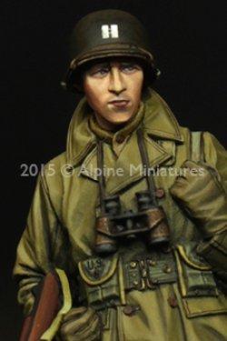 画像3: Alpine Miniatures[AM35203]1/35  WWII米 歩兵将校(マッキーノコート)