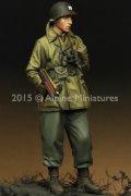 Alpine Miniatures[AM35203]1/35  WWII米 歩兵将校(マッキーノコート)