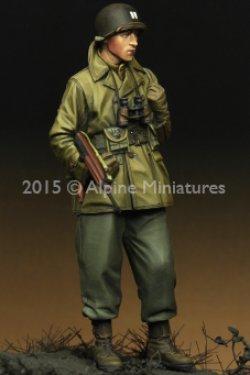 画像1: Alpine Miniatures[AM35203]1/35  WWII米 歩兵将校(マッキーノコート)