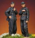 Alpine Miniatures[AM35207]1/35 武装親衛隊 AFVクルーセット Uボートジャケット 1944-45(2体セット)