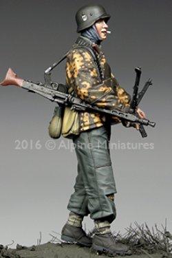 画像2: Alpine Miniatures[AM35211]1/35 WWII独 武装親衛隊機銃手 ハンセン戦闘団(バルジの戦い)