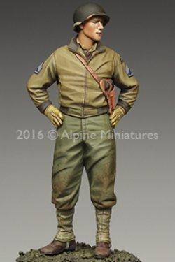画像1: Alpine Miniatures[AM35218]1/35 WWII米 第3機甲師団 二等軍曹(タンカージャケット)