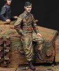 Alpine Miniatures[AM35224]1/35 WWII独 武装親衛隊 ティーガー搭乗員(1944-45)(パンツァージャケット)