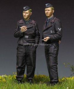 画像3: Alpine Miniatures[AM35228]1/35 WWII独 国防軍戦車クルー (2体セット)(パンツァージャケット)