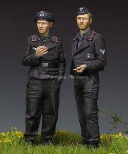 画像2: Alpine Miniatures[AM35228]1/35 WWII独 国防軍戦車クルー (2体セット)(パンツァージャケット)