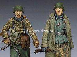 画像2: Alpine Miniatures[AM35231]1/35 WWII独 ハンセン戦闘団 ポトーの戦い(2体セット)