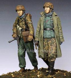 画像4: Alpine Miniatures[AM35231]1/35 WWII独 ハンセン戦闘団 ポトーの戦い(2体セット)