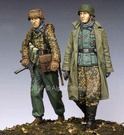 画像3: Alpine Miniatures[AM35231]1/35 WWII独 ハンセン戦闘団 ポトーの戦い(2体セット)