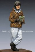 Alpine Miniatures[AM35238]1/35 WWII独 SS戦車長(防寒服)
