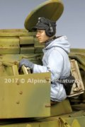 Alpine Miniatures[AM35239]1/35 WWII独 SS戦車兵砲手(防寒服)