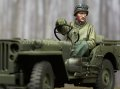 Alpine Miniatures[AM35242]1/35 WWII米 ジープドライバー(冬季)