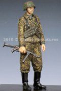 Alpine Miniatures[AM35245]1/35 WWII独 SS下士官 MP40短機関銃