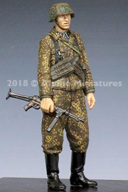 画像1: Alpine Miniatures[AM35245]1/35 WWII独 SS下士官 MP40短機関銃