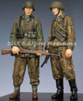 Alpine Miniatures[AM35246]1/35 WWII独 SS擲弾兵44-45(2体セット)