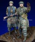 Alpine Miniatures[AM35249]1/35 WWII独 降下猟兵 アルデンヌ戦(2体セット)