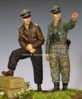 Alpine Miniatures[AM35255]1/35 WWII独 SS将校 44-45(2体セット)