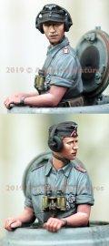 Alpine Miniatures[AM35263]1/35 WWII 独 ドイツ陸軍 上着を脱いだ夏場の戦車兵#1