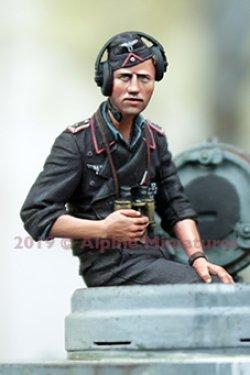 画像2: Alpine Miniatures[AM35265]1/35 WWII 独 ドイツ陸軍 夏場の戦車兵セット(2体セット)