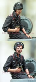 Alpine Miniatures[AM35264]1/35 WWII 独 ドイツ陸軍 腕まくりしたうで夏場の戦車兵#2