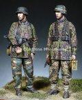 Alpine Miniatures[AM35268]1/35 WWII 独 SS第12HJ師団所属 MG射撃チームセット(2体セット)