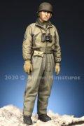Alpine Miniatures[AM35284]1/35 WWII 米陸軍マフラー姿の戦車長#1