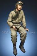 Alpine Miniatures[AM35285]1/35 WWII 米陸軍マフラー姿の戦車長#2
