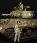 Alpine Miniatures[AM35286]1/35 WWII 米陸軍マフラーを巻く戦車兵セット(2体セット)
