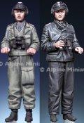 Alpine Miniatures[AM35292]1/35 WWII ドイツパンツァーエースセット(2体入)